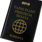kalendarz z grawerem dedykacji