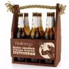 drewniana skrzynka na 6 piw z grawerem dla niego