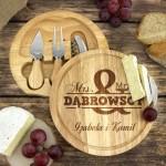 zestaw do sera z grawerem na prezent dla pary