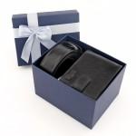 zestaw pasek i portfel skórzany na prezent dla niego