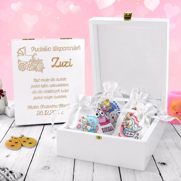 pudełko wspomnień dla dziewczynki na prezent